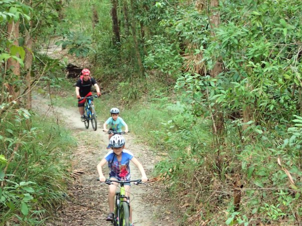 Mountain Bike riding on the Sunshine Coast