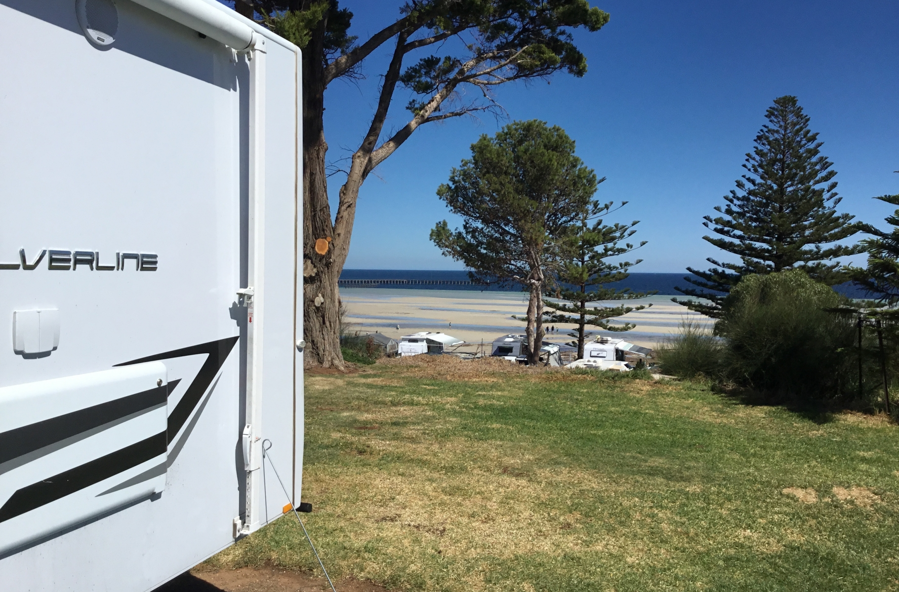Jayco Ballarat Silverline at Moonta Bay
