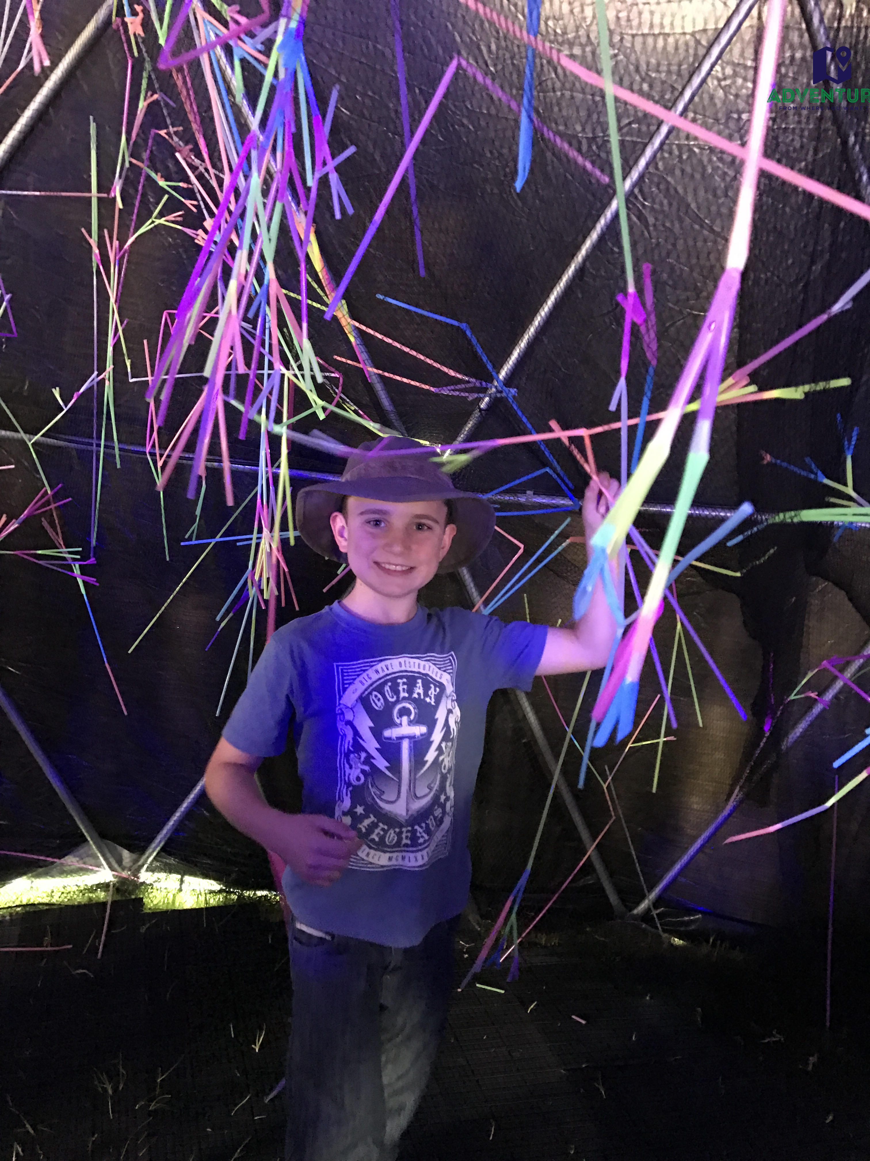Scienceworks - Neon Nature