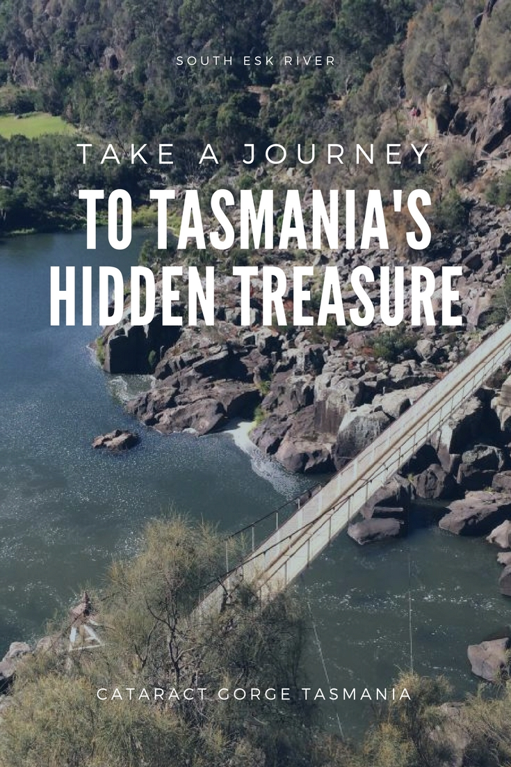 Cataract Gorge in Launceston Located on the South Esk River Only 1.5 Kms from Launceston is the must-see location the