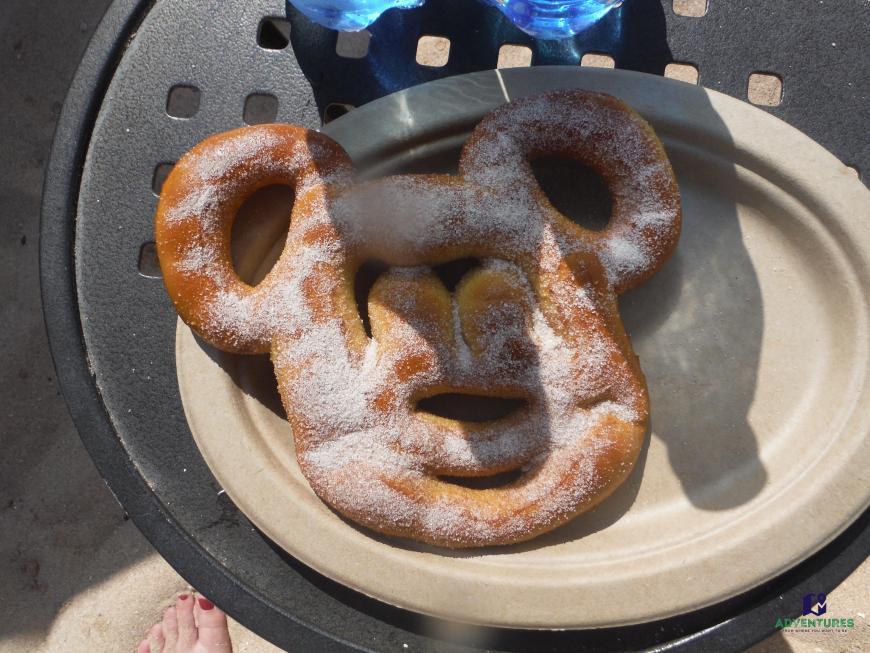 Mickey pretzel at Disney Aulani resort