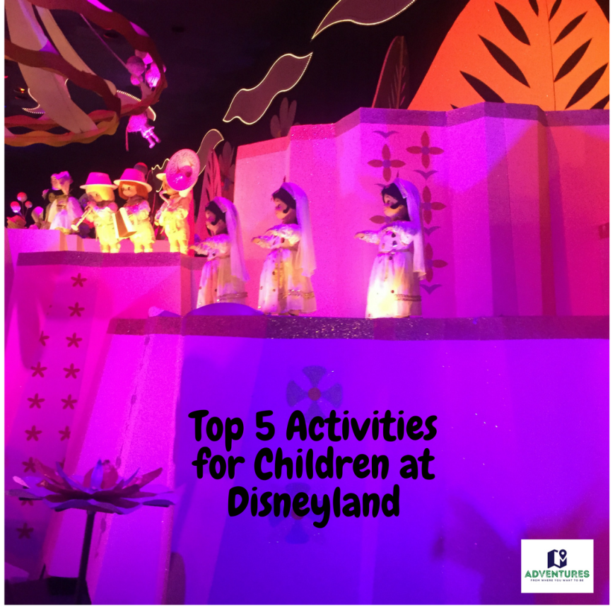 Top 5 Activities for Children at Disneyland