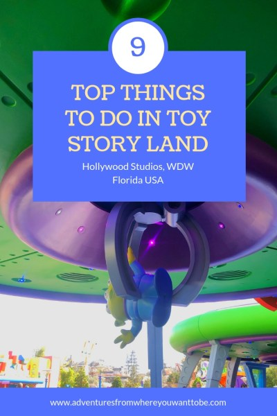 Toy Story Land did not disappoint, it is a fun, cheerful land with decorations and rides that are larger than life. Everywhere you go in Toy Story Land you will be greeted as if you are a toy playing in Andy's backyard.  We have put together our top 9 things to do in Toy Story Land, they are not in any particular order.