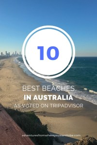 Australia's top ten beaches as voted on trip advisor