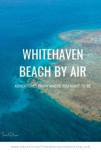Come see Whitehaven Beach from a new perspective from above