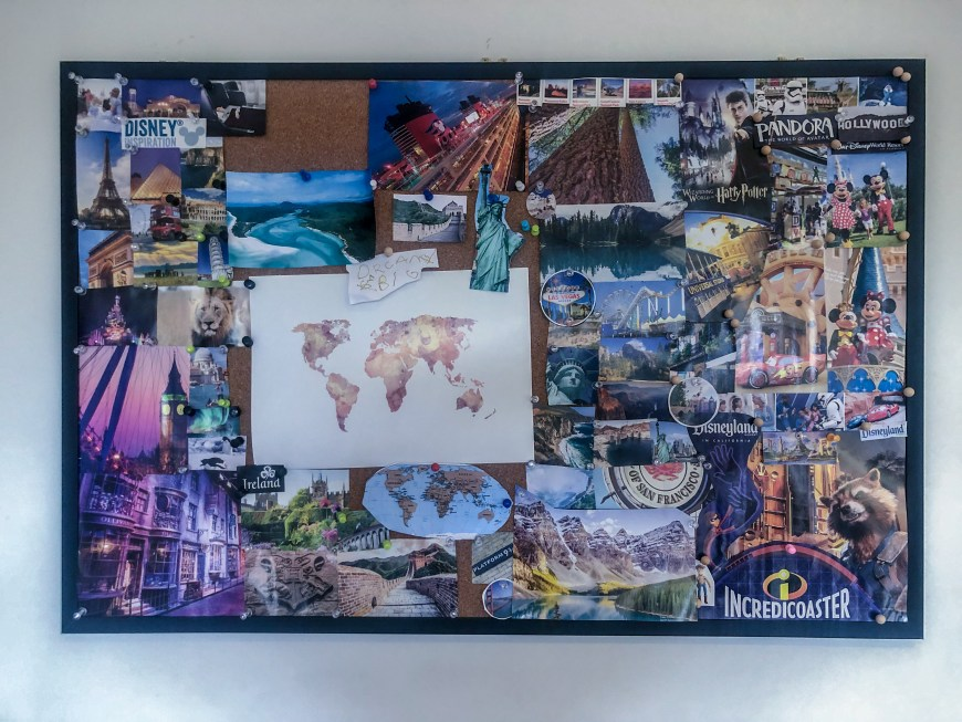 Creating a dream board with your kids