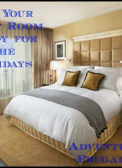 Get Your Guest Room Ready for The Holidays