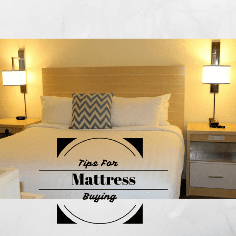Tips For Mattress Buying