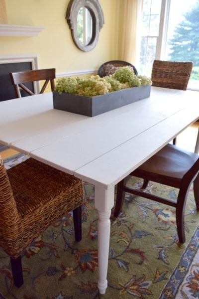 Building A Farmhouse Style Kitchen Table - HMLP 54 Feature