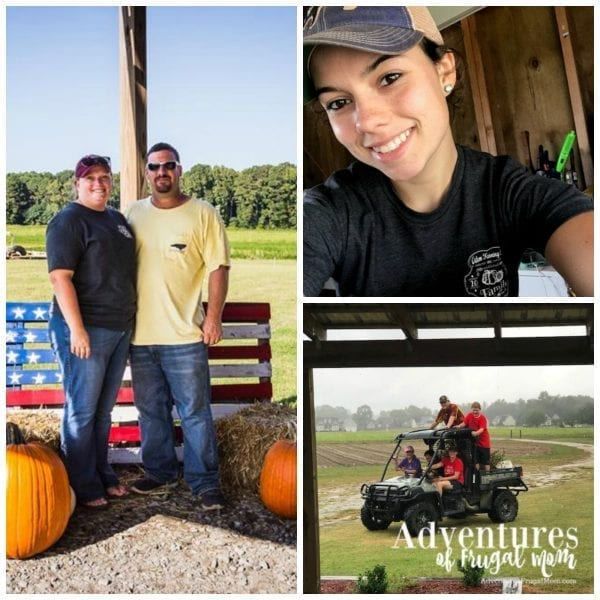 Thoughts on Working on the Farm by North Carolina lifestyle blogger Adventures of Frugal Mom