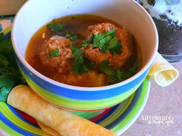How to Make Albondigas in an Instant Pot by North Carolina Lifestyle Blogger Adventures of Frugal Mom