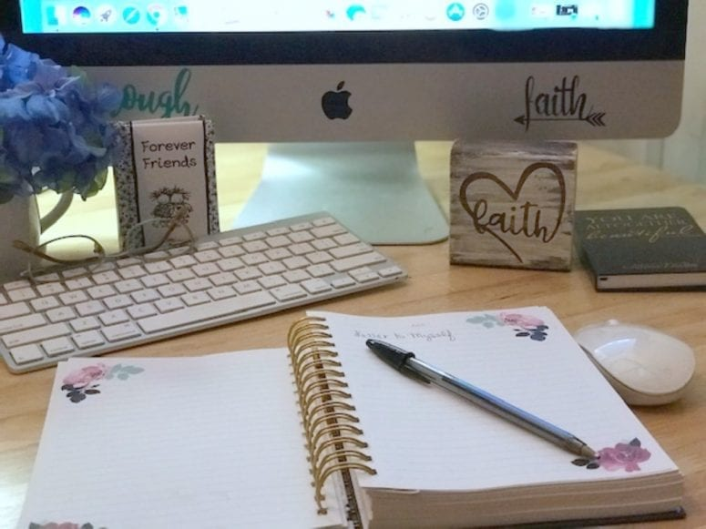 A Letter to Myself A Year From Now from North Carolina Lifestyle Blogger Adventures of Frugal Mom