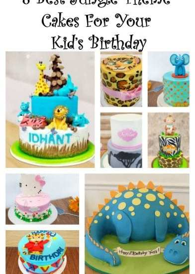 8 Best Jungle Theme Cakes For Your Kid's Birthday