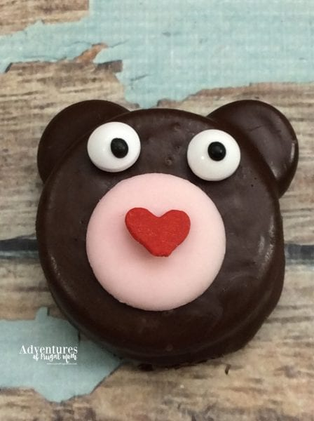 Celebrate Winnie the Pooh Day with Teddy Bear Oreos from North Carolina Lifestyle Blogger Adventures of Frugal Mom