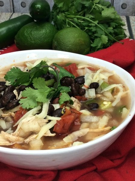 Easy Mexican Soup from North Carolina Lifestyle Blogger Adventures of Frugal Mom