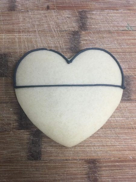Heart Shaped Mickey & Minnie Mouse Inspired Cookies from North Carolina Lifestyle Blogger Adventures of Frugal Mom