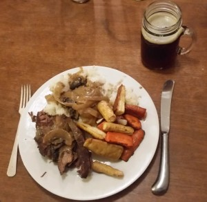 chuck Roast and veggies