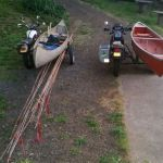 Canoes on sidecars