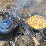 eggs frying