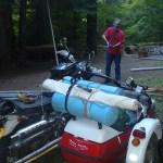 Sidecar Luggage Rack