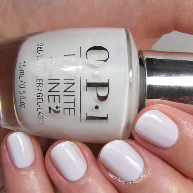 Swatch Saturday OPI Infinite Shine Iconic Collection Adventures In Acetone