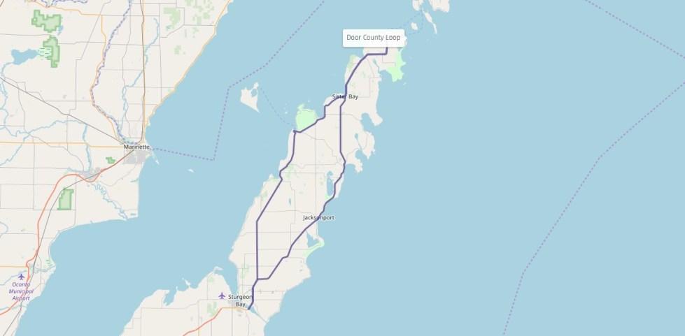 Door County Coastal Byway