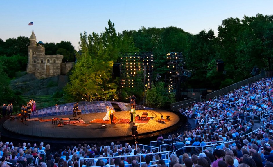 NYC Shakespeare in the Park