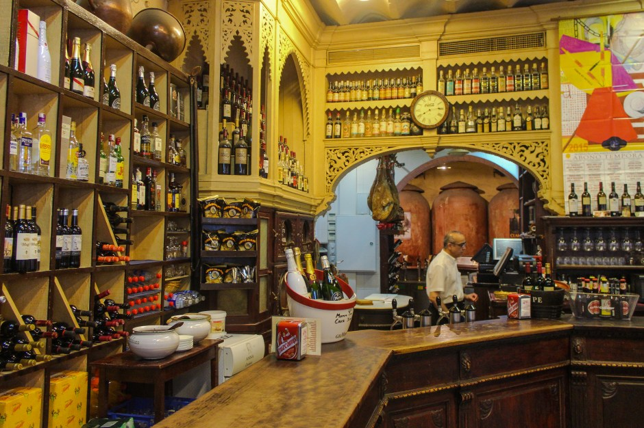 Traditional Tapas bar Seville, Spain