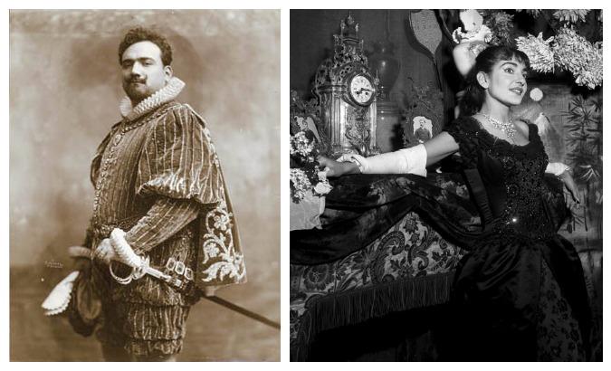 Caruso and Callas
