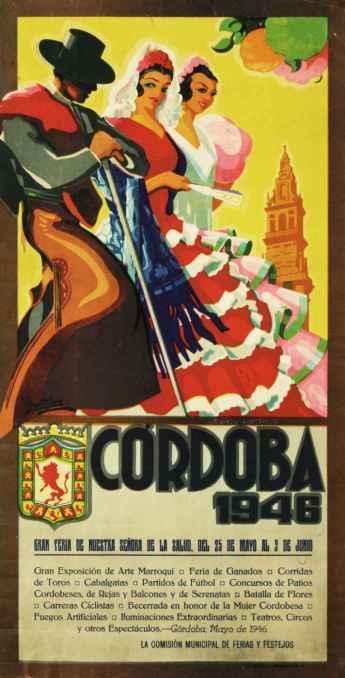 Cordoba Patio Festival vintage poster