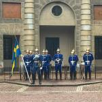 Pomp and circumstance changing of the guard at Stockholms Royalhellip