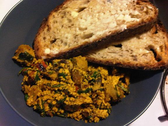 Dish #15 - Indian-Style Tofu Scramble (4/4)
