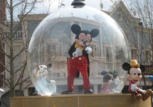 Our Magic Kingdom Parade Spot
