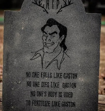 DIY Disney Villain Tombstone