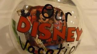 Disney Vacation Memories Christmas Ornaments