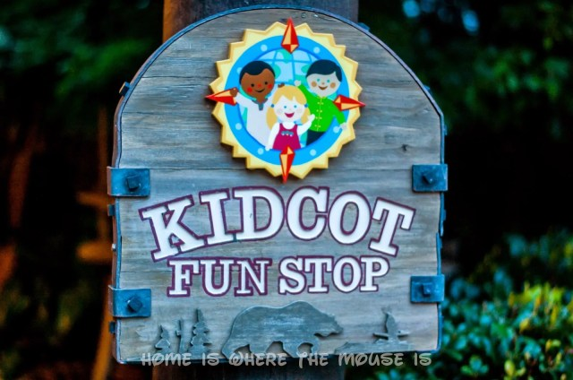 KidCot Fun Stops at Disney's Epcot Theme Park