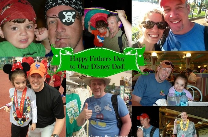 Wordless Wednesday – Disney Dad