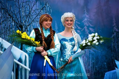 Anna and Elsa Royal Welcome
