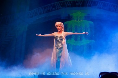 Elsa at First Time in Forever Frozen Sing-Along Celebration