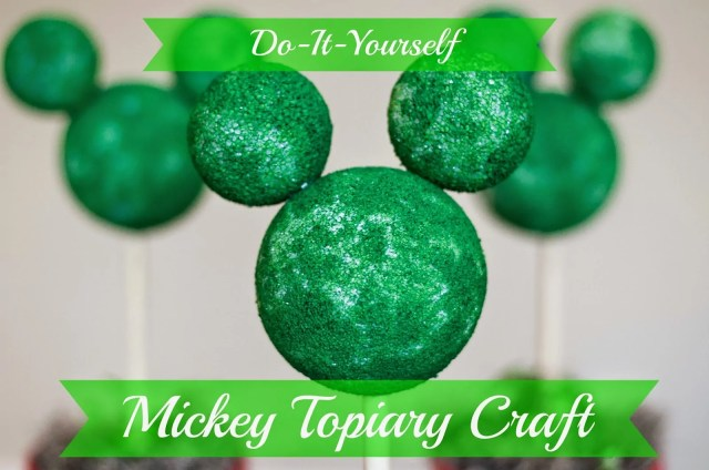 Disney Mickey Mouse Topiary Craft