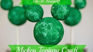 DIY Mickey Springtime Topiary