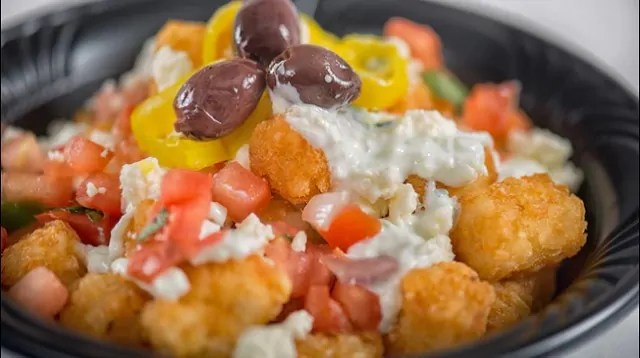 Friars Nook Loaded Greek Tots