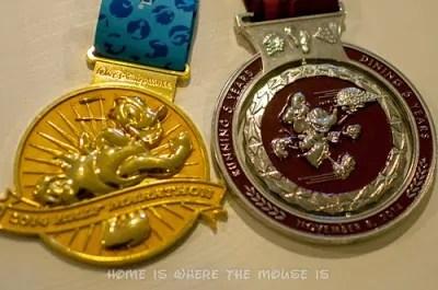 runDisney | WDW Half and Wine & Dine Half Medals