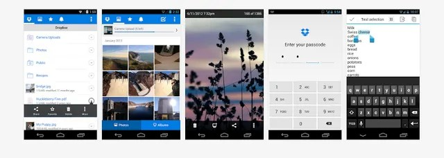 I use Dropbox to move photos and videos off my phone to make room for more