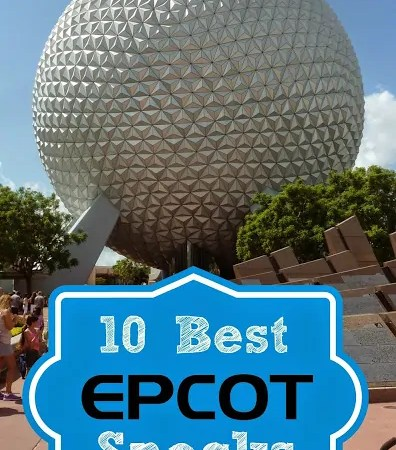 10 Best Epcot Snacks