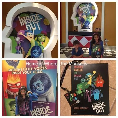 Inside Out All Access Event at the movie theater