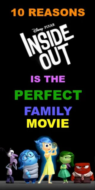 10 Reasons Inside Out is the Perfect Family Movie | Home is Where the Mouse is