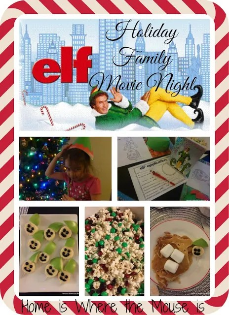 Elf Holiday Family Movie Night