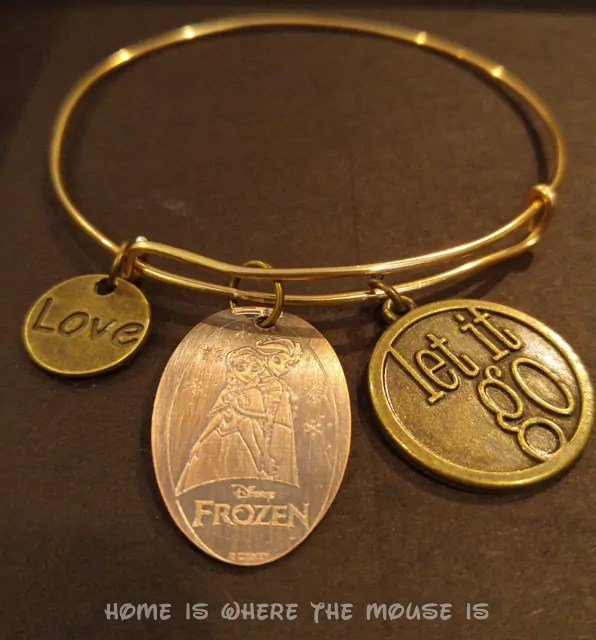 DIY Disney Alex and Ani Style Pressed Penny Bracelet