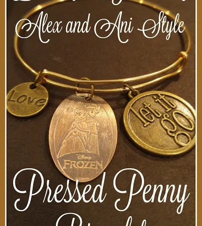 How to Make an Alex and Ani Style Disney Pressed Penny Bracelet